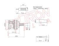 BNC-04N-TGN-75 - Deltron Italia